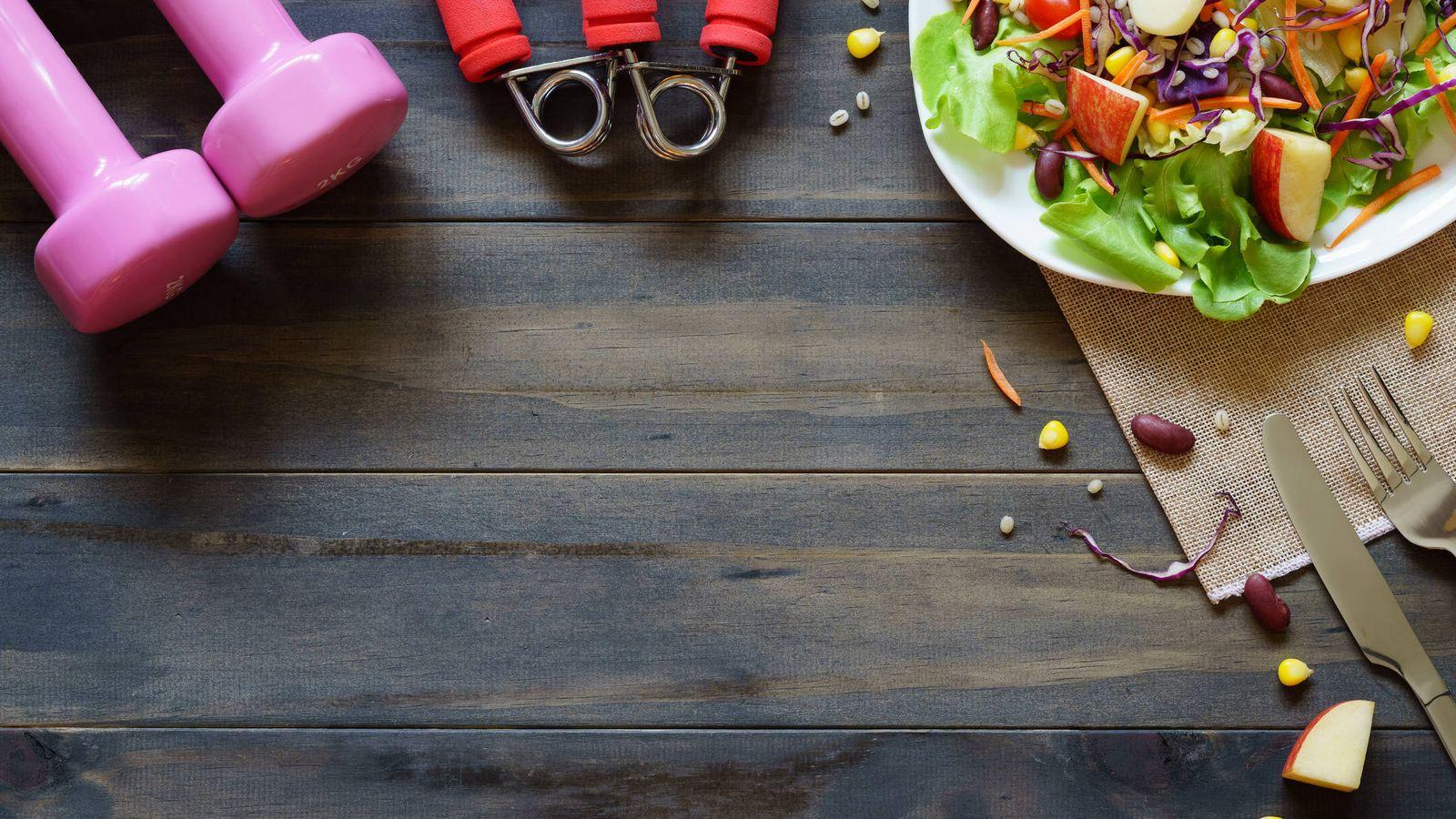 Foto: Dieta y ejercicio, fundamentales para activar el metabolismo. (iStock)