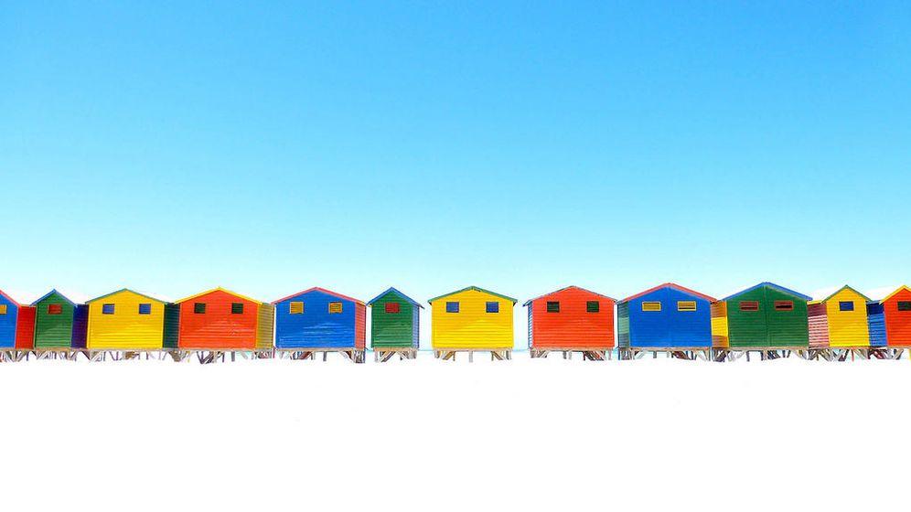 Foto: El problema de las cinco casas de colores fue establecido por Einstein (Flickr/Joao Vicente)