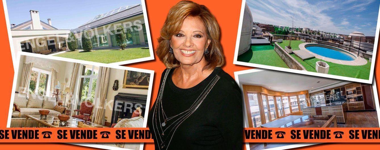 Foto: María Teresa Campos ha colgado le cartel de 'se vende' en sus casas de Aravaca y Las Rozas (Vanitatis)