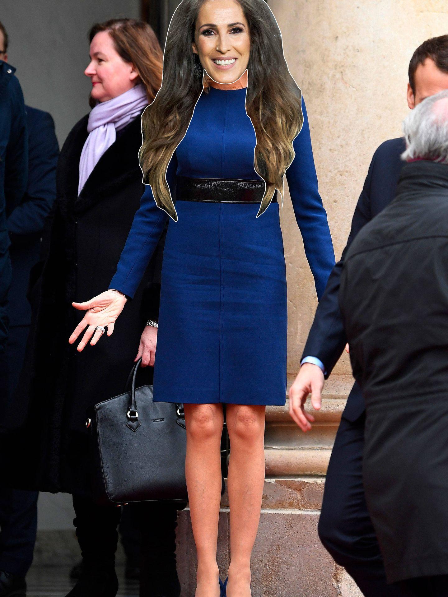 Malú estaría divina con este look de Brigitte Macron. (Getty/Vanitatis)