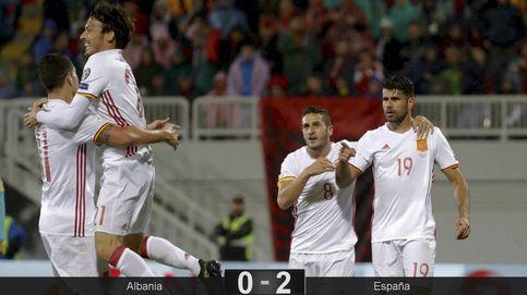 España se divierte en Albania al ritmo que marca la pizarra de Lopetegui