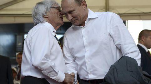 Cuando el macho man Putin se rascó el bolsillo a 240 km/h por Rusia y la F1