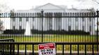 Detenida una persona en la entrada de la Casa Blanca que decía llevar una bomba