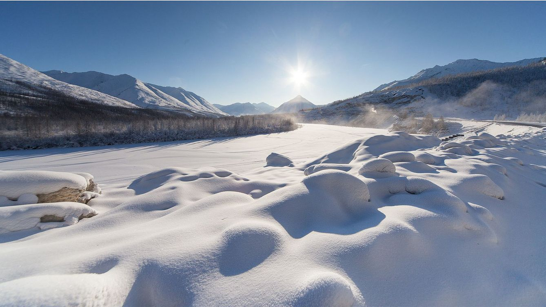 38 grados en la ciudad más fría del mundo (con récord de 67 grados bajo cero)
