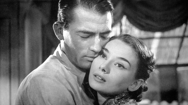 Gregory Peck y Audrey Hepburn, en 'Vacaciones en Roma'. (CP)