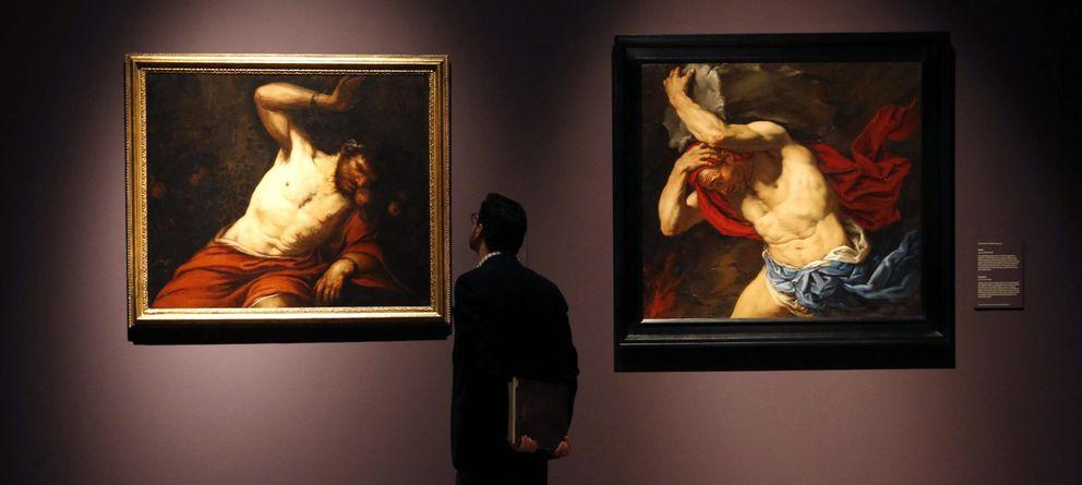 Foto: Una imagen de la exposición Las furias. De Tiziano a Ribera. (EFE)