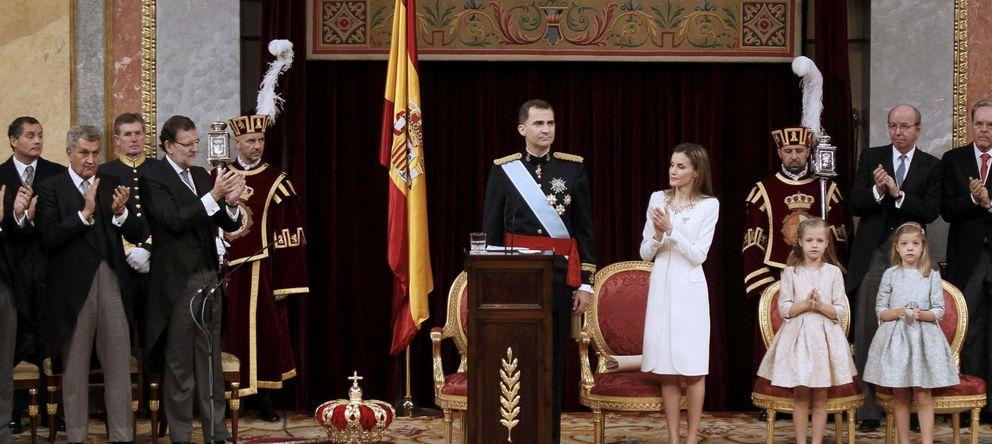 Foto: Felipe VI, durante su discurso en el Congreso de los Diputados (Reuters)