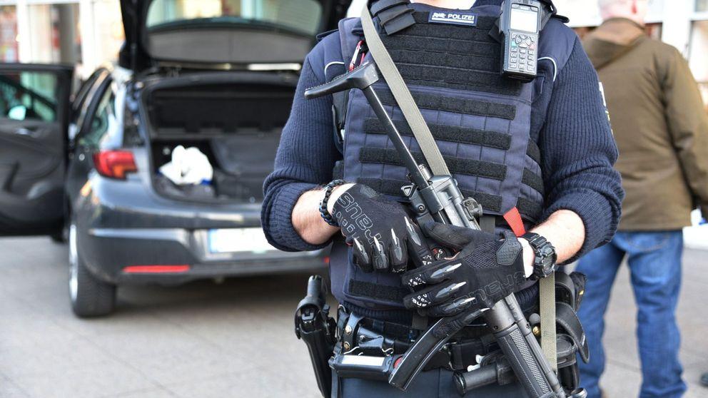 La Policía alemana dispara a un hombre tras un atropello en una zona peatonal