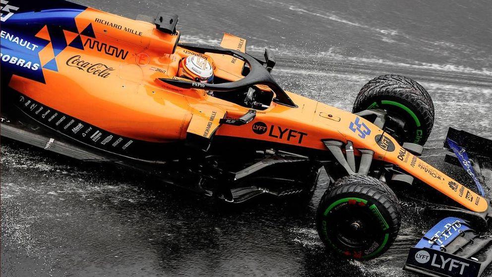 Carlos Sainz o cuando tu mejor resultado con McLaren sabe a cuerno quemado