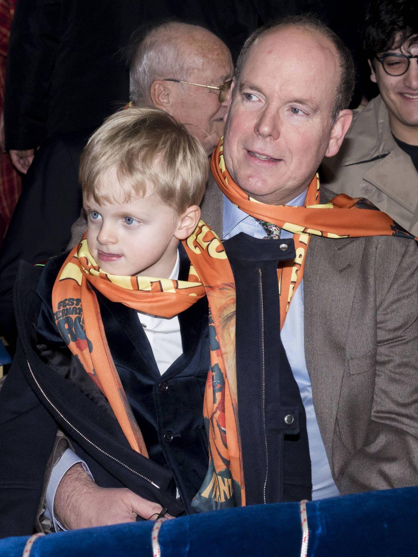 Jacques con su padre. (CP)