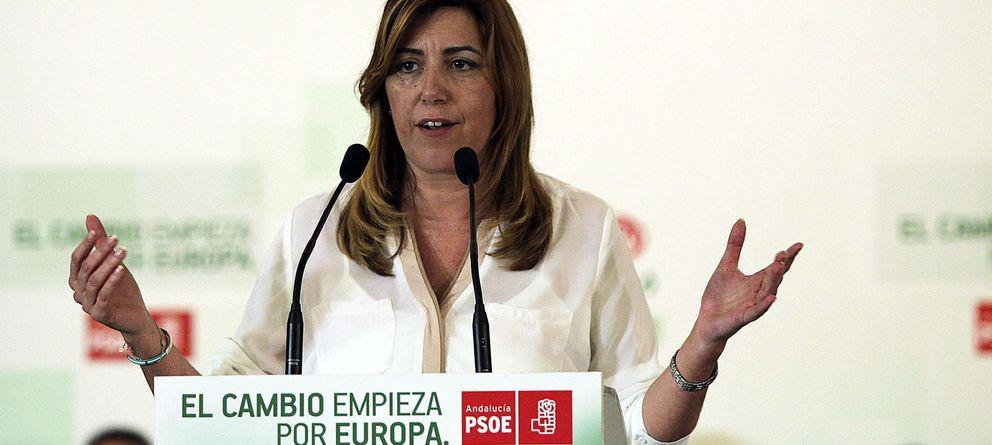 Foto:  La secretaria general del PSOE andaluz y presidenta de la Junta de Andalucía, Susana Díaz. (EFE)