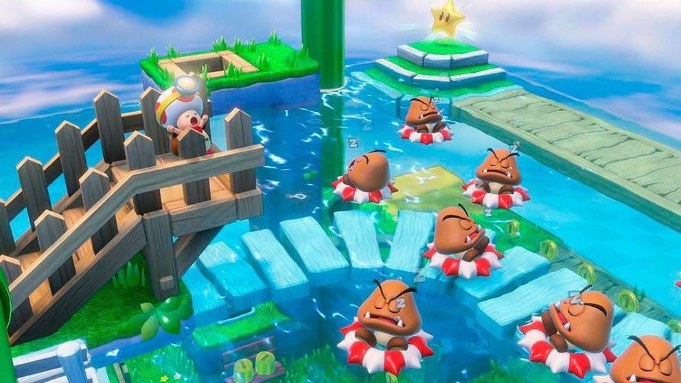 Captain Toad confirma la racha de éxitos de Nintendo