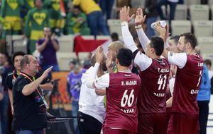 Qatar, la selección que fichó hinchas y ganó a Brasil en su debut