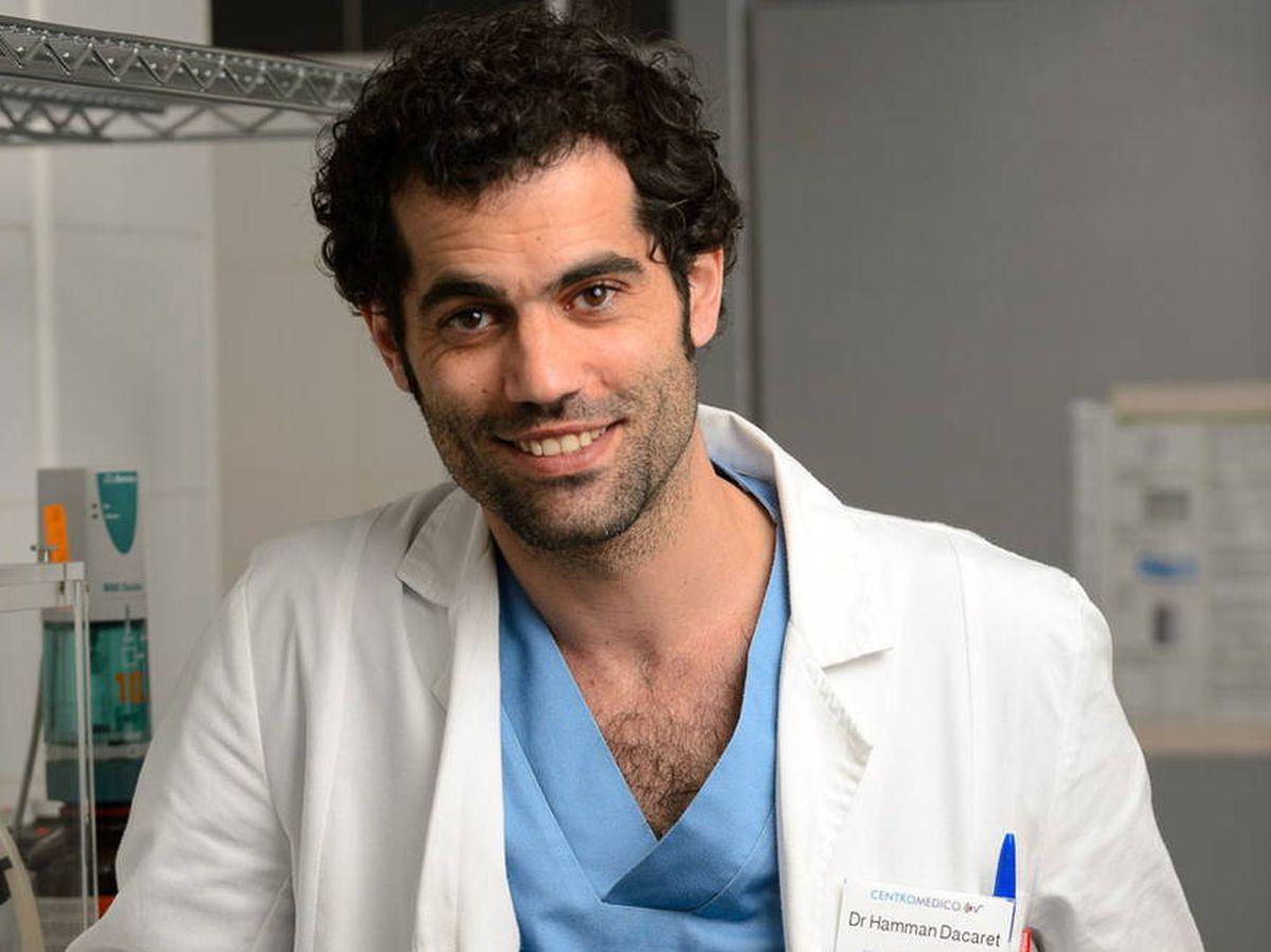 Foto: Jordi Mestre, en 'Centro médico'. (RTVE)