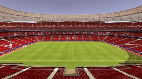 Así serán las gradas del Wanda Metropolitano