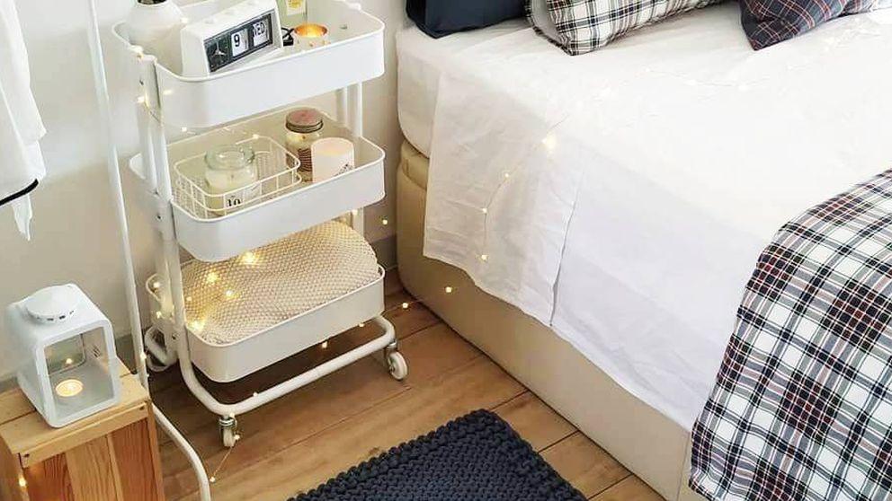 Decora tu dormitorio con Ikea y estas alfombras perfectas para espacios pequeños