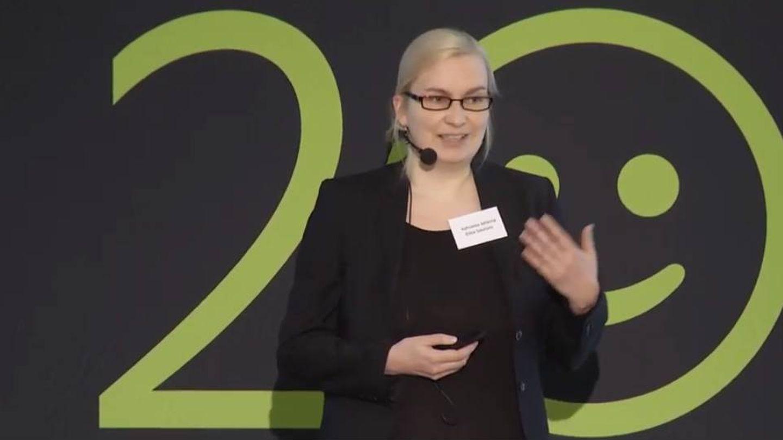 Johanna Kohvakka, en 2016. (YouTube)