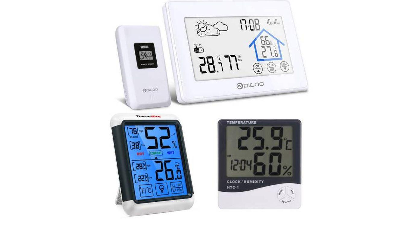 Los mejores termómetros higrómetros para comprobar la humedad en el hogar