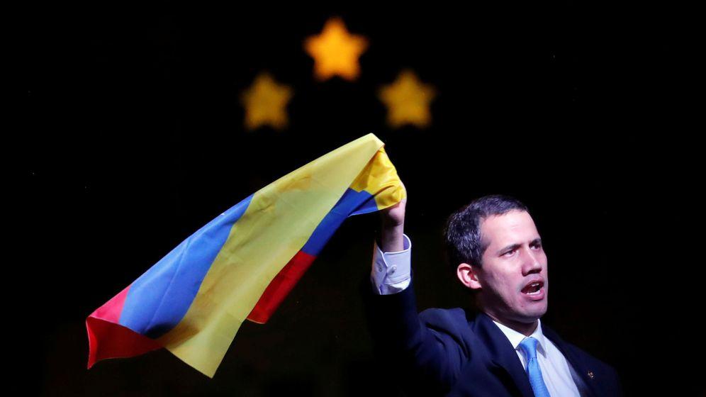 Foto: El presidente de la Asamblea Nacional de Venezuela, Juan Guaidó (c). (EFE)
