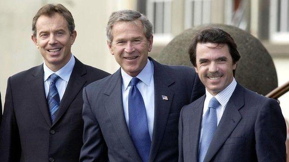 Foto: Blair y Aznar acordaron una estrategia de comunicación para dar la impresión de que estaban haciendo todo lo posible para evitar la guerra. (EFE)