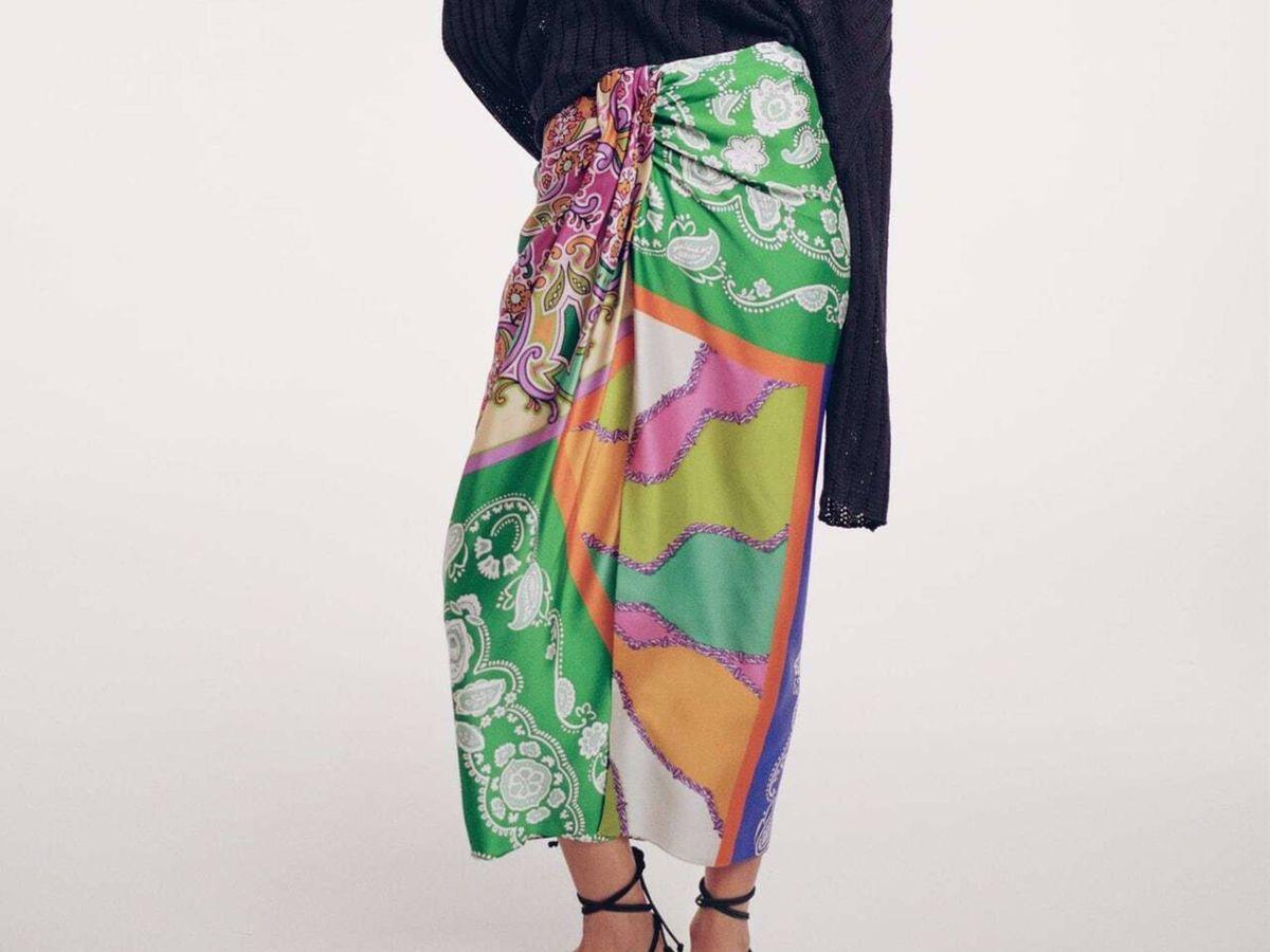 Foto: La falda de Zara. (Cortesía)
