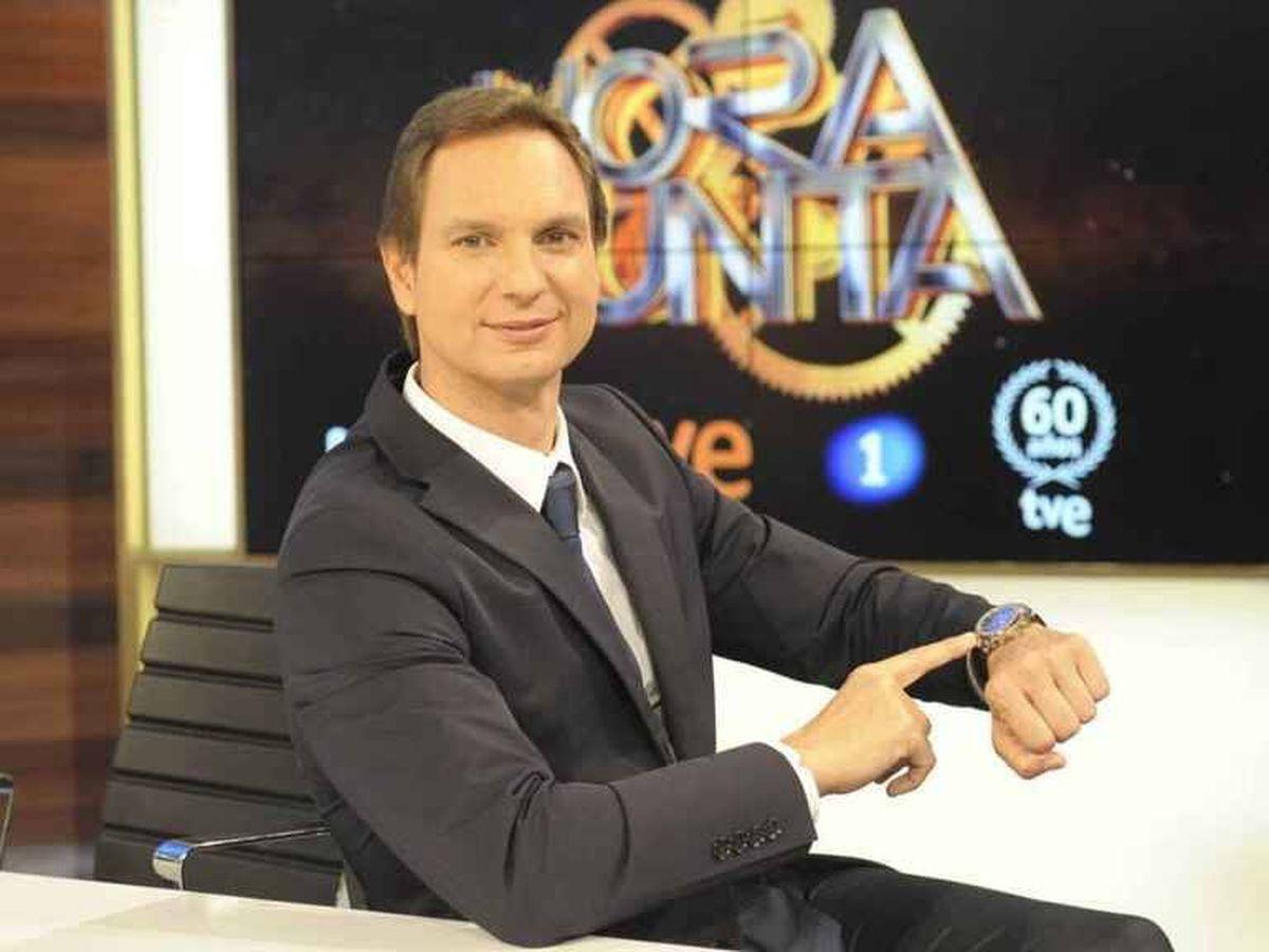 Foto: Javier Cárdenas, en su etapa en Televisión Española.