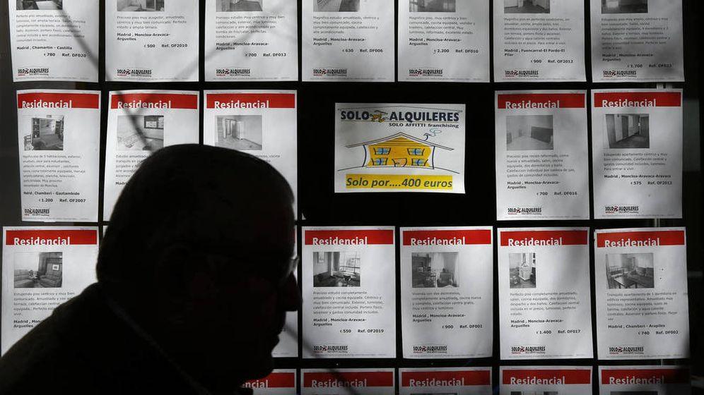 Foto: Una agencia inmobiliaria de Madrid. (Reuters)