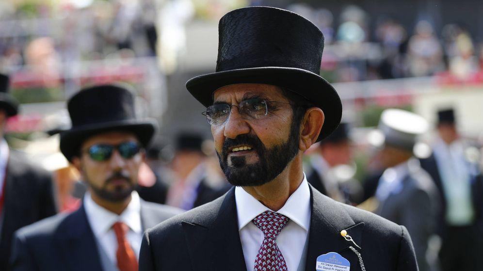Foto: Sheikh Mohammed bin Rashid Al Maktoum es un habitual en las carreras de caballos más prestigiosas del mundo. (Reuters)