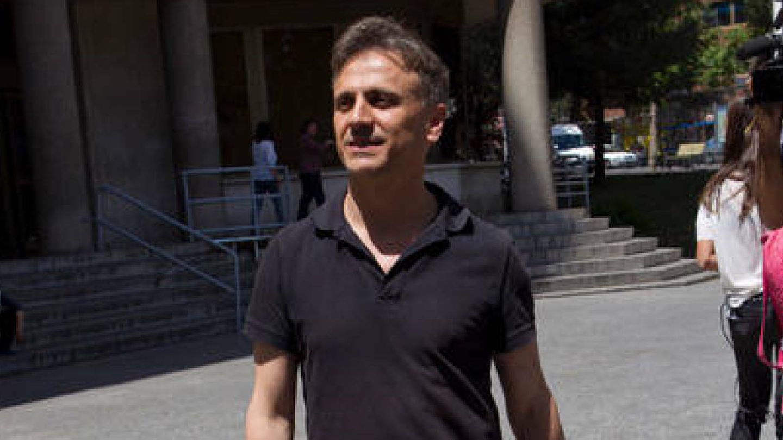 José Mota a la salida de los juzgados.