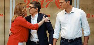 Post de 'Bullying' en el PSOE: López y Díaz le miden el lomo a Sánchez