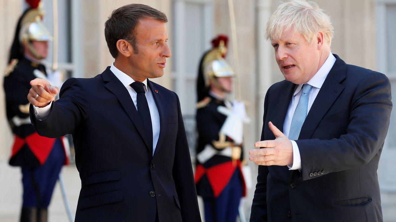 Macron reitera a Johnson: No hay tiempo para una solución alternativa al 'backstop'