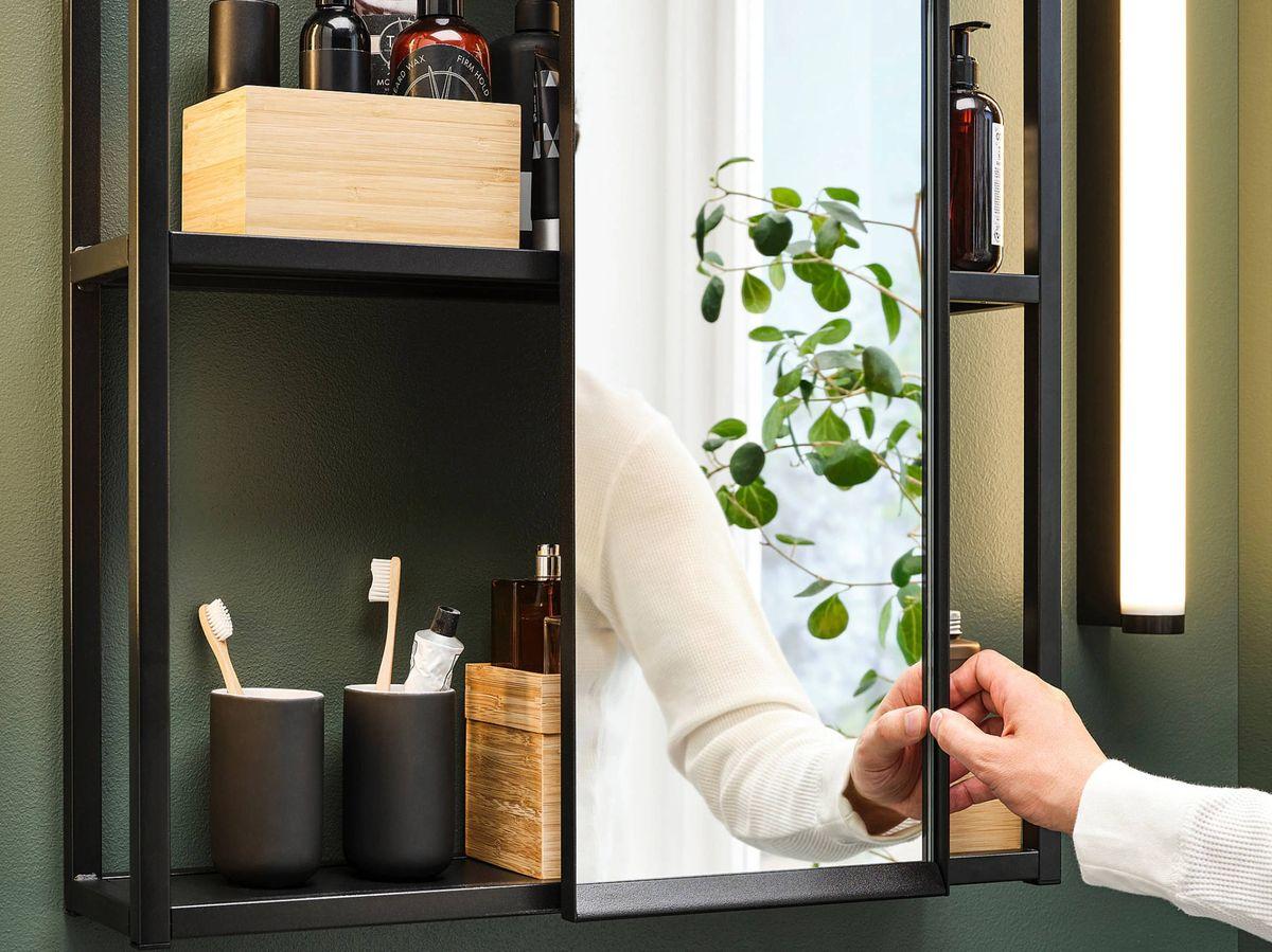 Foto: Un baño coqueto gracias a las soluciones de Ikea. (Cortesía)