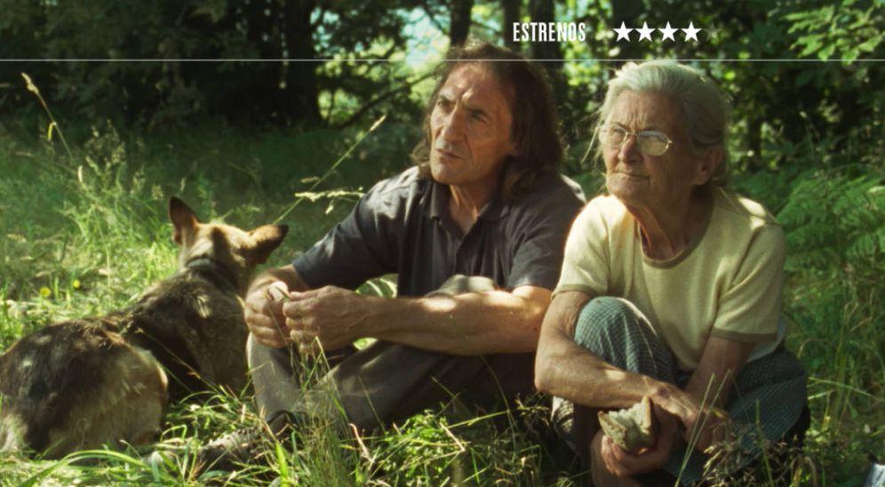 Foto: Amador Arias y Benedicta Sánchez son los protagonistas de 'lo que arde', de Oliver Laxe. (Numax)