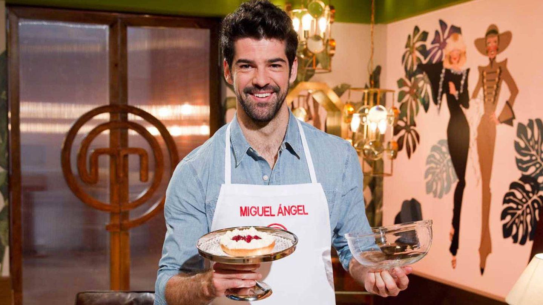 El actor en el reality de cocina. (TVE)