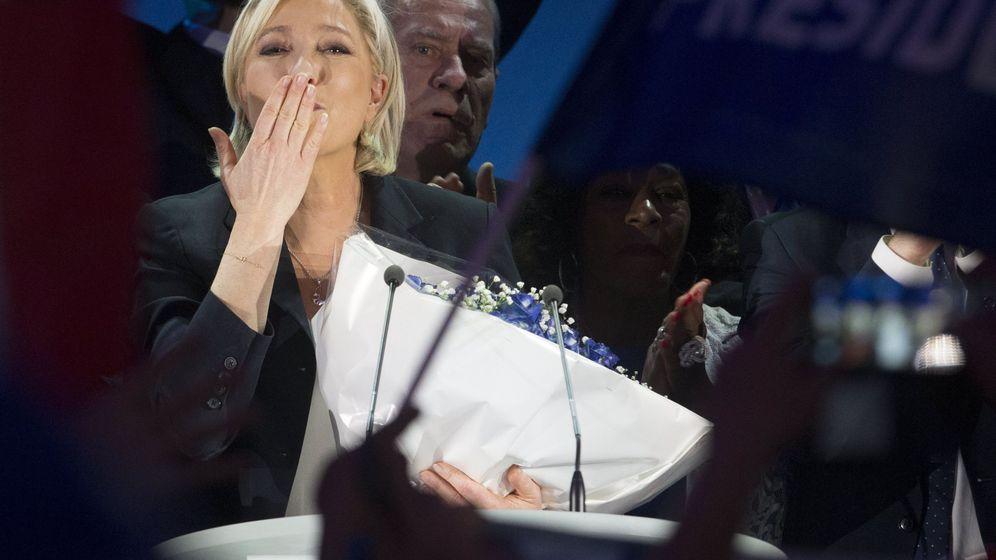 Foto: La candidata a la presidencia de Francia, Marine Le Pen. (EFE)