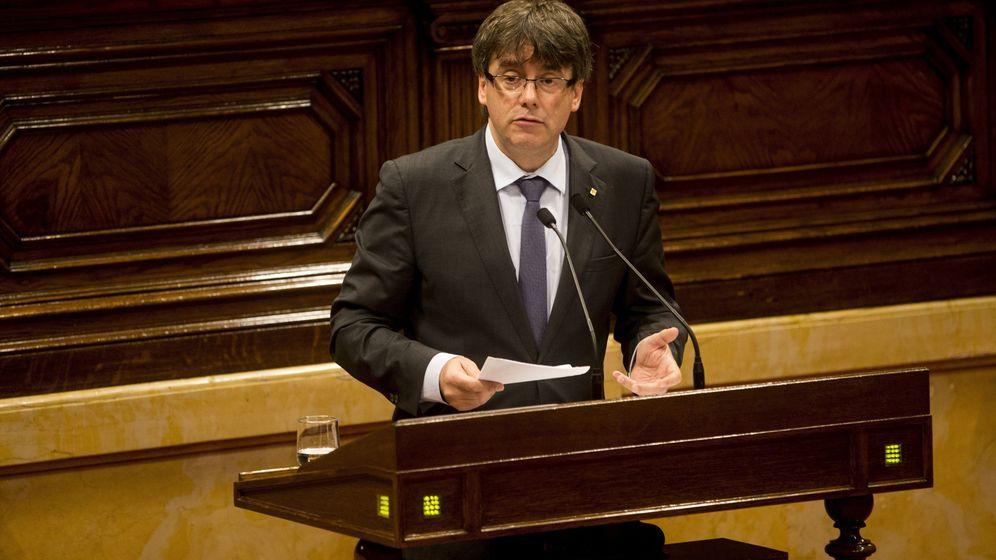 Foto: El presidente de la Generalitat de Cataluña, Carles Puigdemont