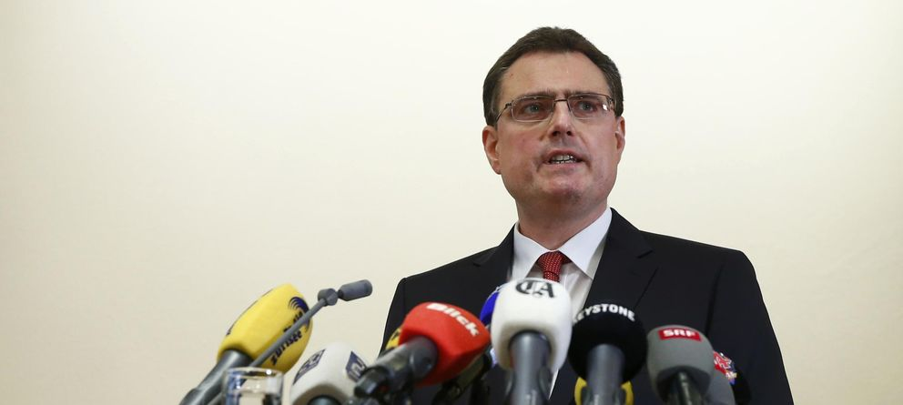 Foto: El presidente del Banco de Suiza, Thomas Jordan