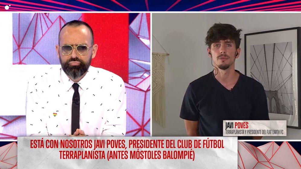 Foto: Risto Mejide y Javi Poves. (Mediaset España)
