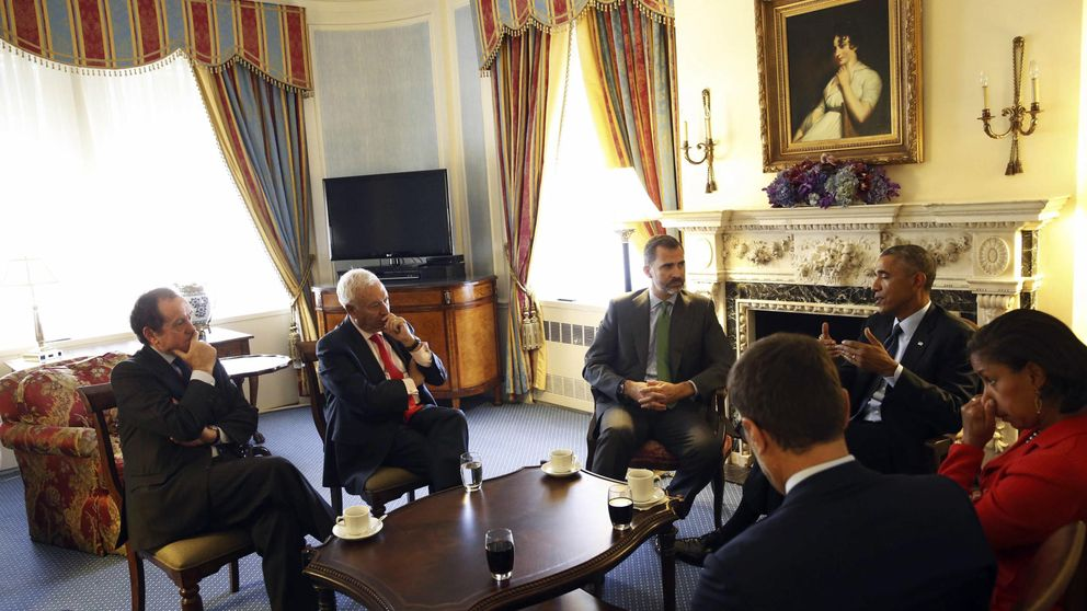 Felipe VI viaja con el gran empresariado catalán a EEUU en plena campaña