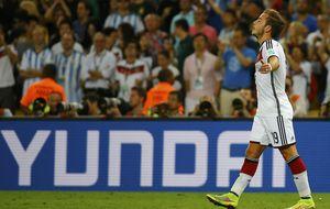 Y Mario se vistió de Andrés: Götze recuerda a Iniesta con su gol