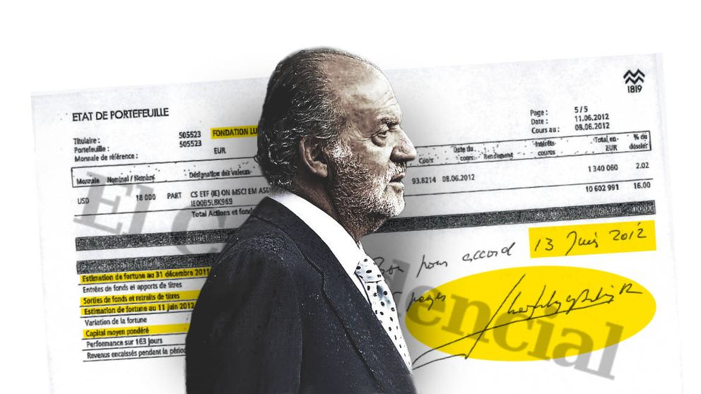 Juan Carlos I sacó 5 M de su cuenta antes de cerrarla y tras ganar una fortuna en bolsa