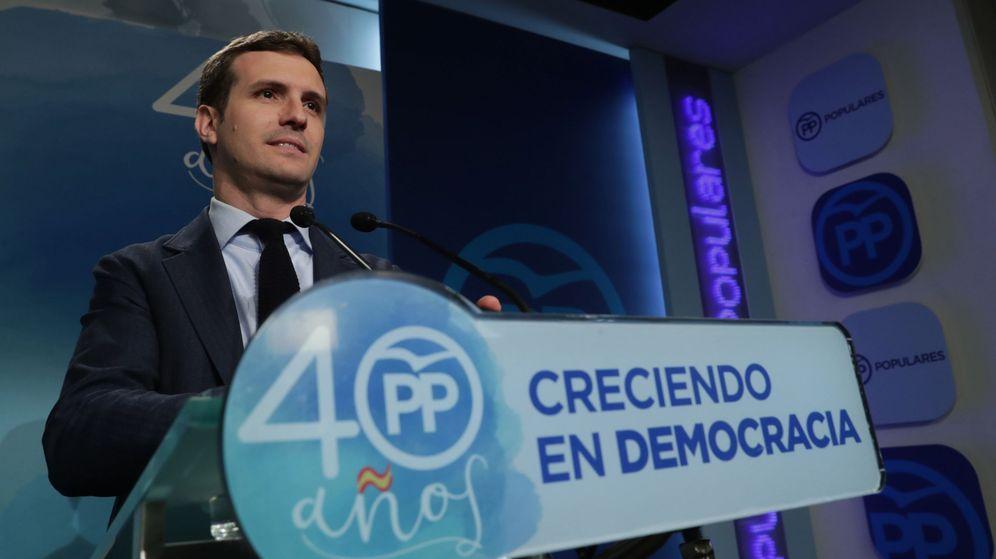 Foto: El vicesecretario de Comunicación del PP, Pablo Casado. (EFE)