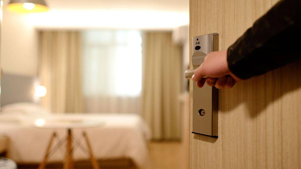 Foto: Entrada de la habitación de un hotel. (Pixabay)