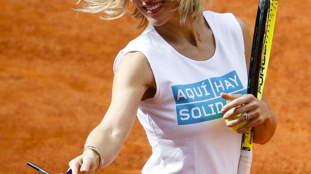 Concentración de famosos en el 'Charity Day' de tenis