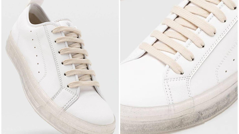 Nuevas zapatillas deportivas de Stradivarius. (Cortesía)