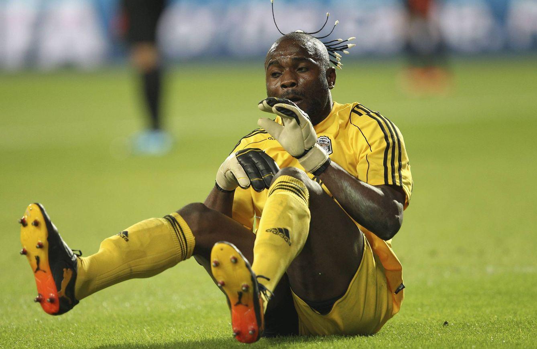 Vuelve Kidiaba, el portero saltarín que sufrió la única alegría de Benítez en el Inter