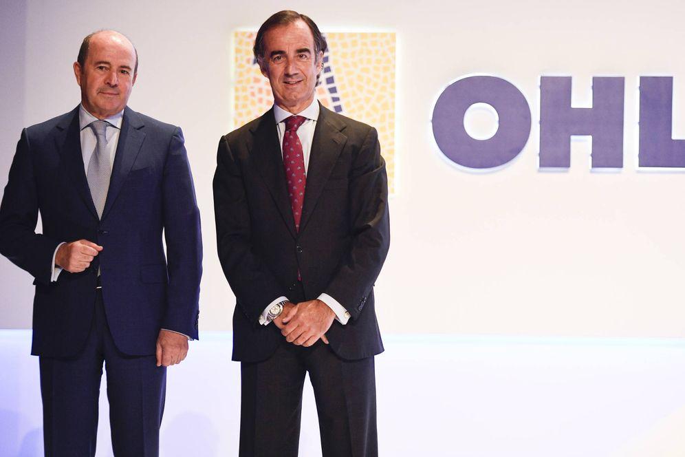 Foto: José Antonio Fernández Gallar y Juan Villar-Mir, consejero delegado y presidente de OHL.