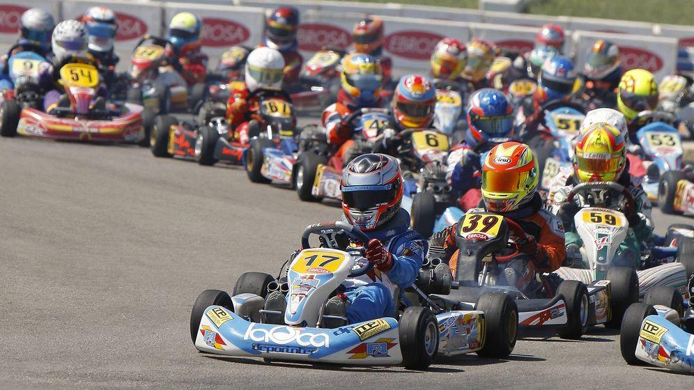 Circuito Karts Fernando Alonso : Muere un niño de años cuando entrenaba en el circuito