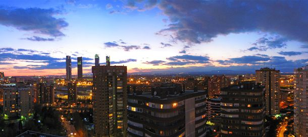 Foto: Imagen del 'skyline' de Madrid.