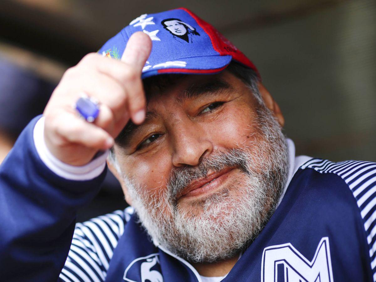 Foto:  Diego Armando Maradona, leyenda. (Getty)